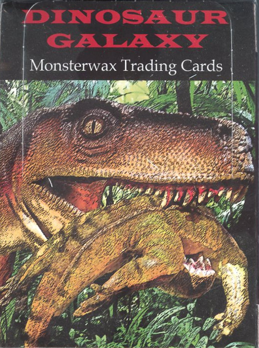 2015 Monsterwax Dinosaur Galaxy Card Set