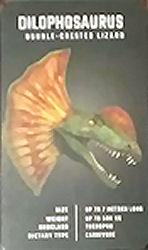 Octagon Studio 2015 Dinosaur 4D+ Phone App Cards Dilophosaurus Source: Auction Site